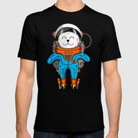 Intercatlactic! to the delicious Milky way!!! Mens Fitted Tee Black SMALL
