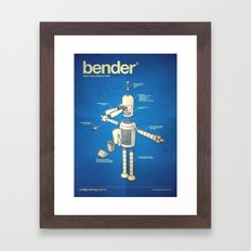Bender Framed Art Print
