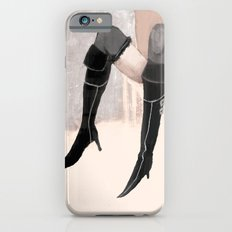 Lady with shoes  iPhone 6 Slim Case