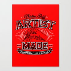 Artist Made Canvas Print