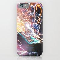 Techno-Finger Painting iPhone 6 Slim Case