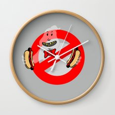 No Ghosts Wall Clock