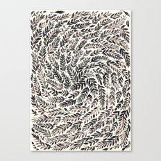 Black Branches Canvas Print