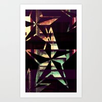 Colours In The Stars Art Print