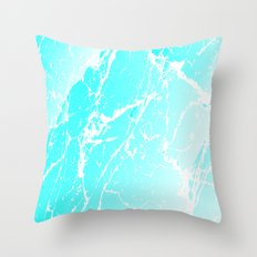 Cracked Ice Throw Pillow