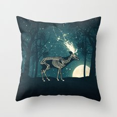 The Forest of the Lost Souls Throw Pillow