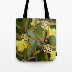 Sunny Orchid Tote Bag