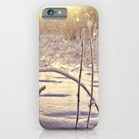 iPhone & iPod Case featuring Alaskan Snowfall by catdossett