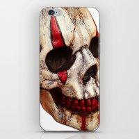 Circus Clown Skull iPhone & iPod Skin