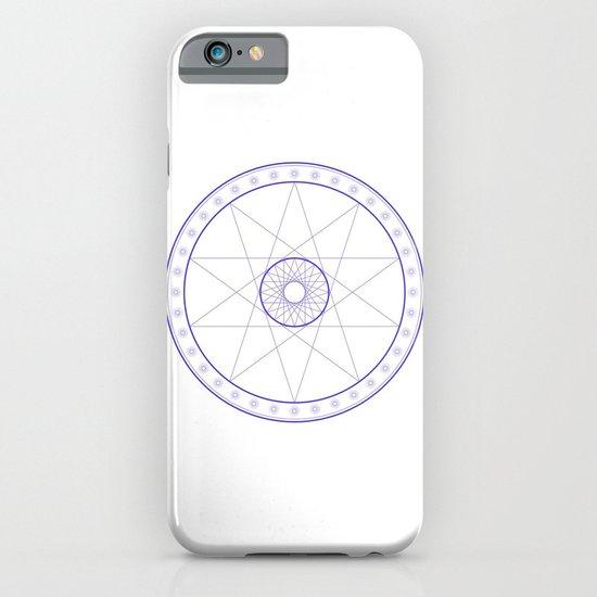 Anime Magic Circle 10 iPhone & iPod Case