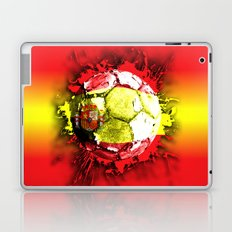 football  spain Laptop & iPad Skin