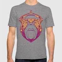 Forest Spirit Victoriana Mens Fitted Tee Tri-Grey SMALL