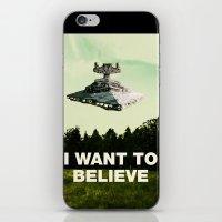 I Want To Believe iPhone & iPod Skin