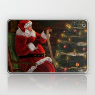 Santas List Laptop & iPad Skin