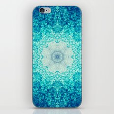 Blue Waves iPhone & iPod Skin