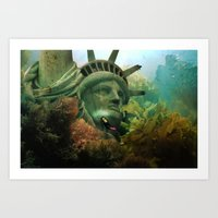 East Coast Sightseeing Art Print