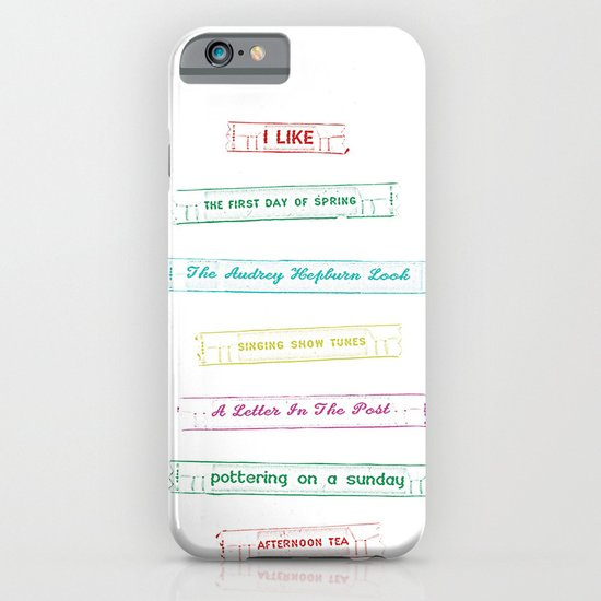 List no. 1 iPhone & iPod Case