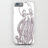 iPhone & iPod Case featuring Octopus by Kate Webber