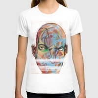 The Face Womens Fitted Tee White SMALL