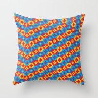 Pattern 0007 Throw Pillow