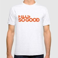 Fills So Good Mens Fitted Tee Ash Grey SMALL