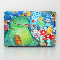 The meal of the Toad iPad Case