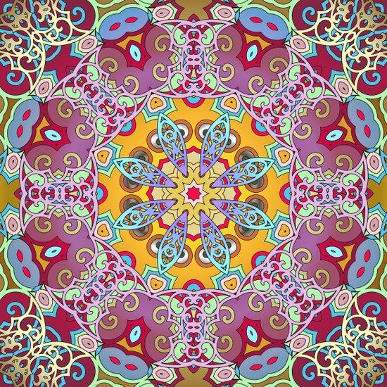 Mix&Match Indian Summer 03 Art Print
