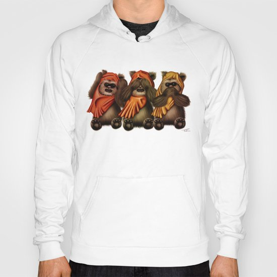 STAR WARS The Three Wise Ewoks Hoody