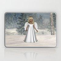 Little Winter Angel Laptop & iPad Skin