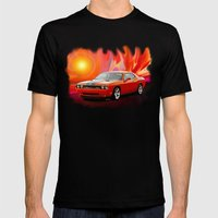 Challenger SRT Mens Fitted Tee Black SMALL