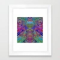 Transcendental Mode Framed Art Print
