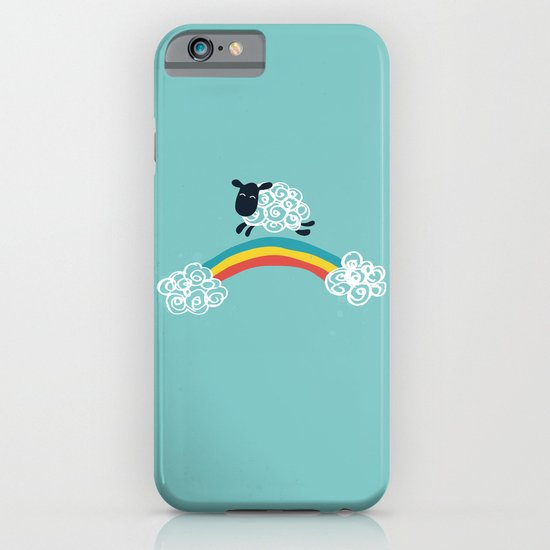 One Happy Cloud iPhone & iPod Case