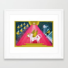 Elijah and the Prophets of Baal (by Dan Christofferson) Framed Art Print