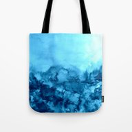 Tote Bag featuring INTO ETERNITY, TURQUOISE… by EbiEmporium