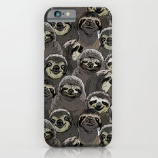 Social Sloths iPhone 6 Slim Case