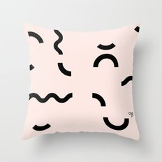OY! Funfetti Throw Pillow
