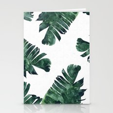 Banana Leaf Watercolor P… Stationery Cards