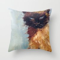 The Wicked One Throw Pillow