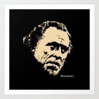 Bukowski#! Art Print