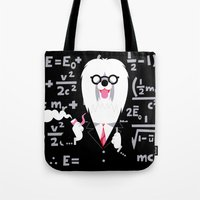 Albert Sheepdog Tote Bag