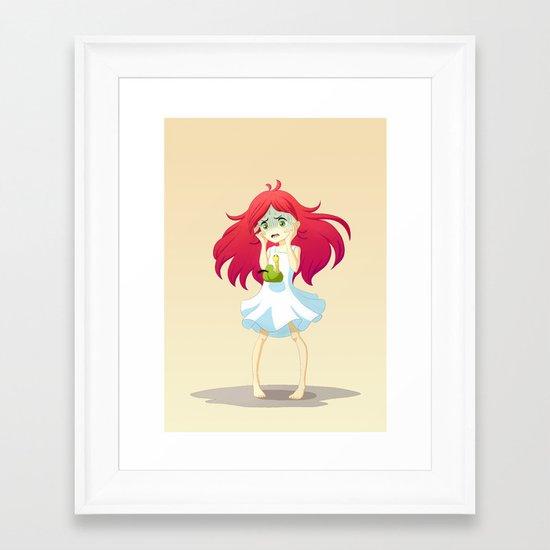 Oh Hi Framed Art Print