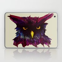 The Disapproving Owl... Laptop & iPad Skin