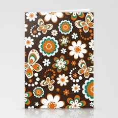 Autumn Hippie Stationery Cards