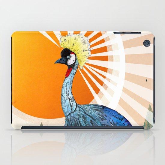 Crowned Crane iPad Case