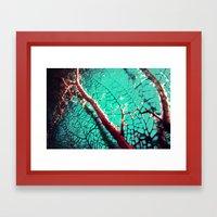 Coral me pretty Framed Art Print