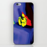 Lamentation in Blue, Yellow, and Orange iPhone & iPod Skin