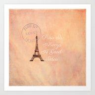Vintage Paris Is Always … Art Print