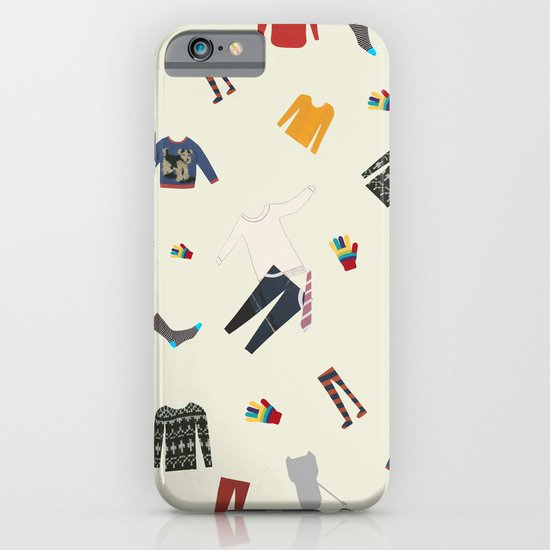 Clothes and monsters iPhone & iPod Case