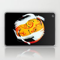 Japanese (Red-Crowned) Cranes Laptop & iPad Skin