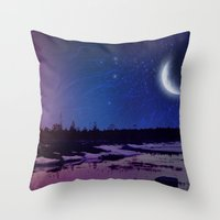 Night - From Day And Nig… Throw Pillow